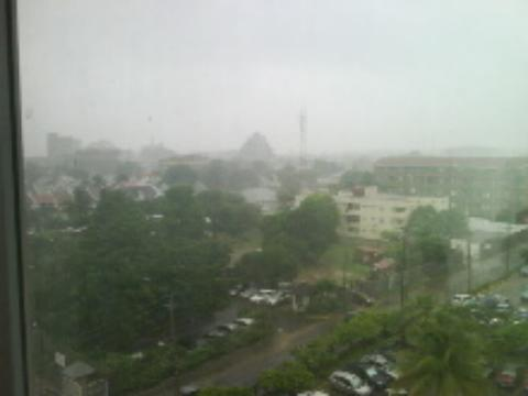 Heavy Rains In Kingston, Jamaica September 2011