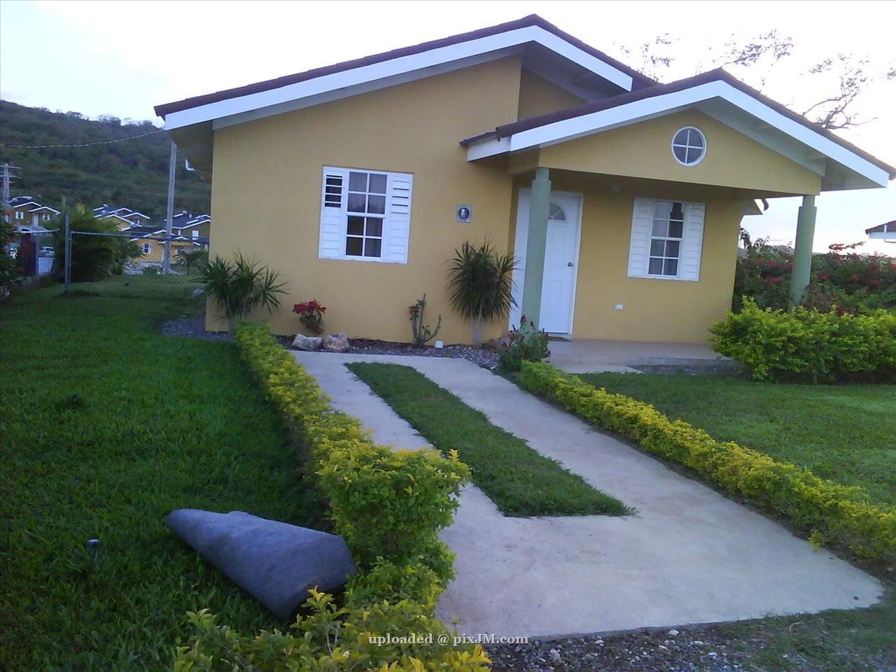 Stonebrook vista at new falmouth trelawny 1 only inna for Cost of building a house in jamaica