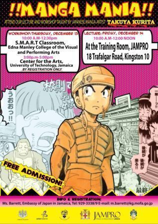 Japanese Embassy Introduces Manga Workshop to JA